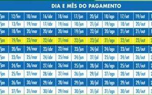 Calendário de Pagamentos 2015