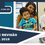 Começa a Averiguação e Revisão Cadastral 2019