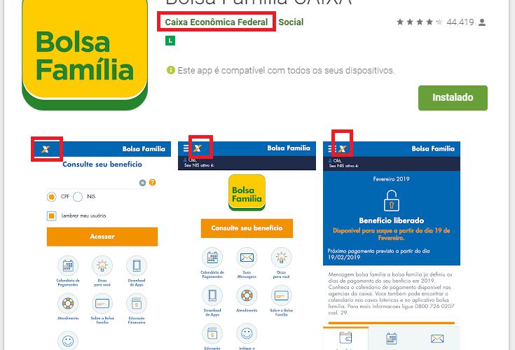 Qual o aplicativo oficial do Bolsa Família?