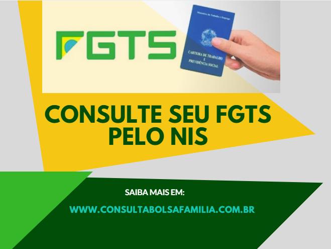 Consultar o FGTS pelo NIS