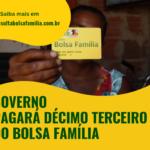 Beneficiários do Bolsa Família vão receber Abono Natalino