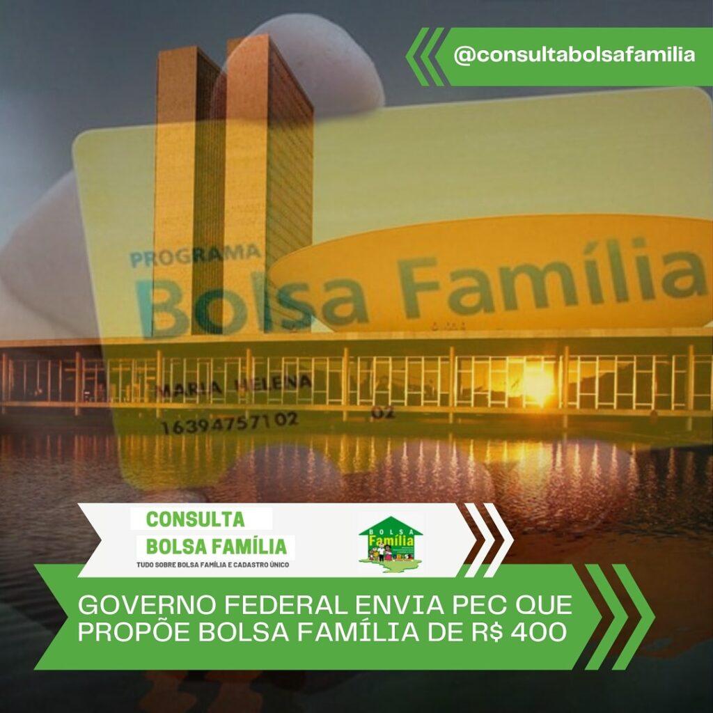 Bolsa Família de R$ 400