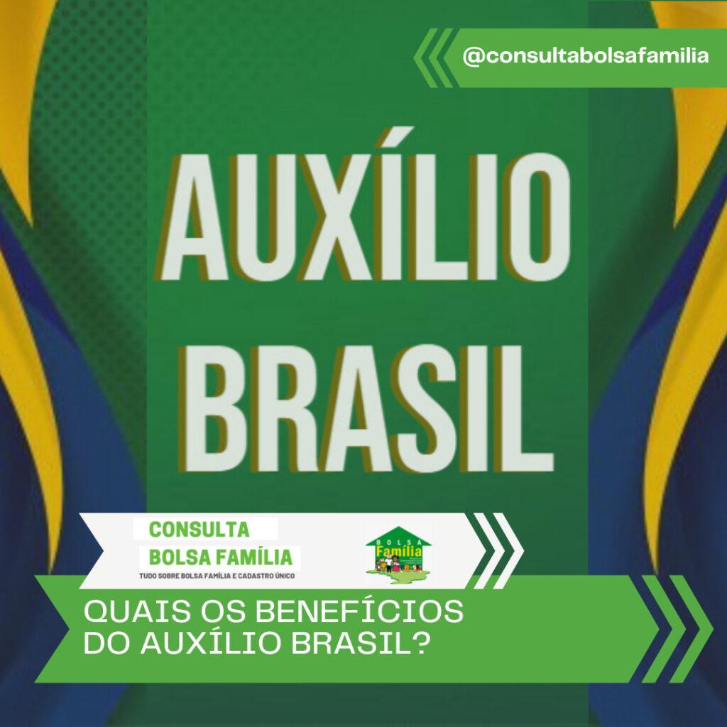 benefícios Auxílio Brasil